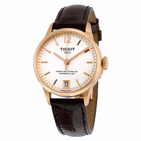 Tissot T0992073603700 Chemin Des Tourelles Ladies Automatic Watch