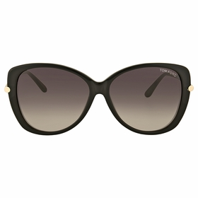 Tom Ford FT0324 01B Linda Ladies  Sunglasses