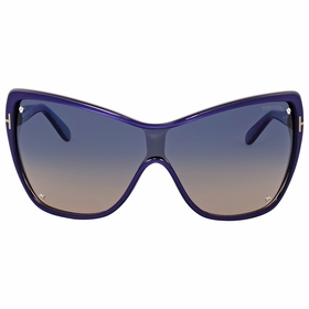 Tom Ford FT0363 86U Ekaterina Shield Ladies  Sunglasses