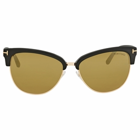 Tom Ford FT0368 01G Fany Ladies  Sunglasses