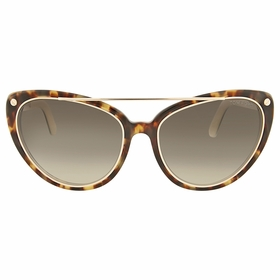 Tom Ford FT0384 56B Edita Ladies  Sunglasses
