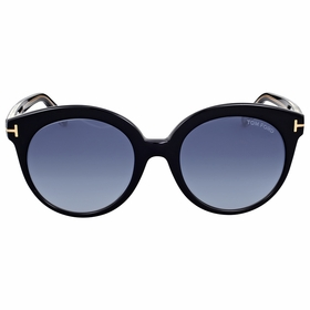Tom Ford FT0429-03W Monica Ladies  Sunglasses