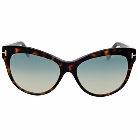 Tom Ford FT0430-52P Lily Ladies  Sunglasses