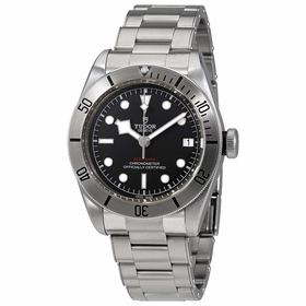 Tudor 79730-0001 Heritage Black�Bay Mens Automatic Watch