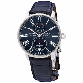 Ulysse Nardin 1183-310/43 Marine Chronometer Torpilleur Mens Automatic Watch