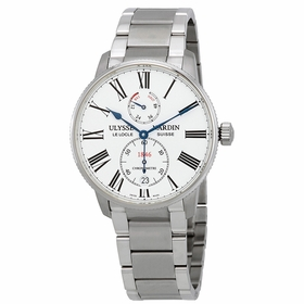 Ulysse Nardin 1183-310-7M/40 Marine Chronometer Torpilleur Mens Automatic Watch