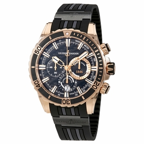 Ulysse Nardin 1502-151-3C/92 Diver Mens Chronograph Automatic Watch