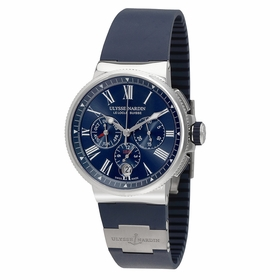 Ulysse Nardin 1533-150-3/43 Marine Chronograph Mens Chronograph Automatic Watch