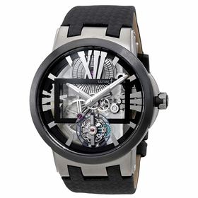 Ulysse Nardin 1713-139 Executive Skeleton Tourbillon Mens Hand Wind Watch