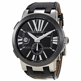 Ulysse Nardin 243-00/42 Executive Dual Time Mens Automatic Watch