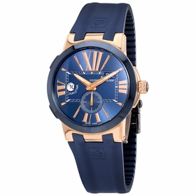 Ulysse Nardin 246-00-3/43 Executive Dual Time Mens Automatic Watch