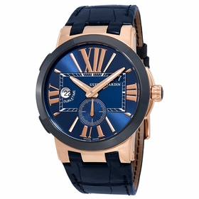 Ulysse Nardin 246-00/43 Executive Dual Time Mens Automatic Watch