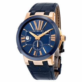 Ulysse Nardin 246-00-5-43 Executive Dual Time Mens Automatic Watch