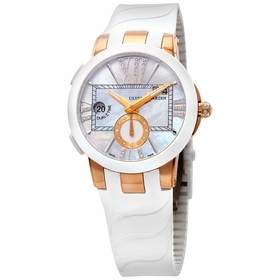 Ulysse Nardin 246-10-3-391 Executive Dual Time Ladies Automatic Watch