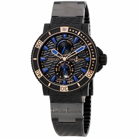 Ulysse Nardin 263-92LE-3C/923-RG Maxi Marine Diver Black Sea Mens Automatic Watch