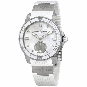 Ulysse Nardin 3203-190-3/10 Diver Ladies Automatic Watch
