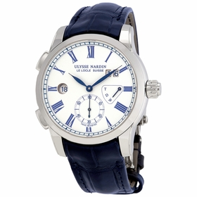 Ulysse Nardin 3243-132/E0 Classic Dual Time Mens Automatic Watch