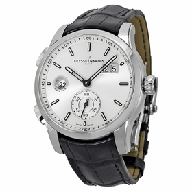 Ulysse Nardin 3343-126-91 GMT Dual Time Mens Automatic Watch