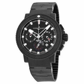 Ulysse Nardin 353-92-3C Black Sea Chronograph Mens Chronograph Automatic Watch