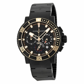 Ulysse Nardin 353-90-3C Black Sea Mens Chronograph Automatic Watch