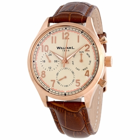 William L 1985 WLOR03BCORCM Vintage Mens Quartz Watch