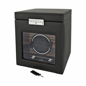 Wolf Designs Roadster Module 2.7 Single Watch Winder with Storage 457156