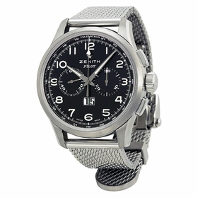 Zenith 03.2410.4010/21.M2410 Pilot Big Date Special Mens Chronograph Automatic Watch