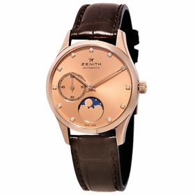 Zenith 18.2310.692/95.C498 Captain Ultra Thin Lady Moonphase Ladies Automatic Watch