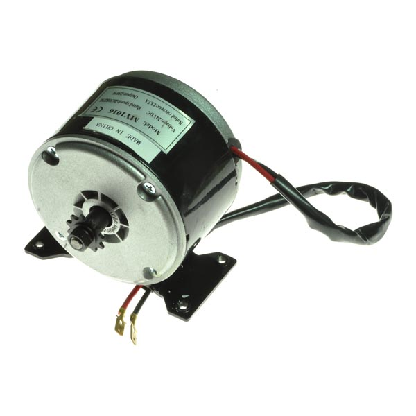 24 Volt 250 Watt Electric Motor With 25 Chain Sprocket