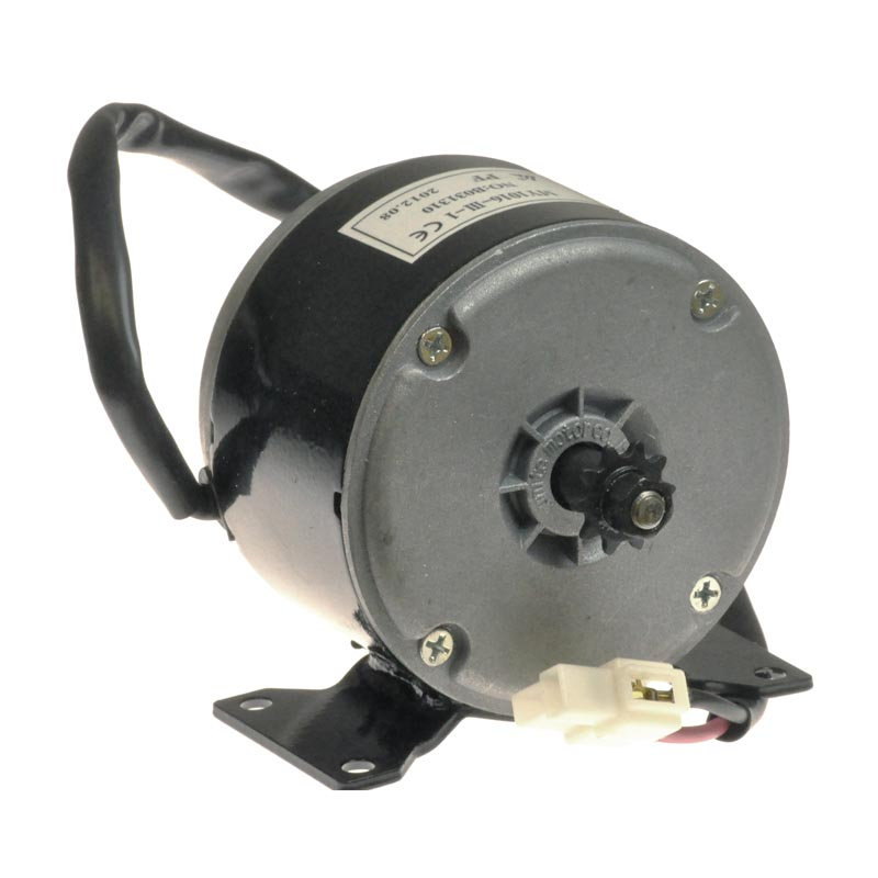 24 Volt 250 Watt My1016 Electric Motor With 10 Tooth 25 Chain Sprocket For The Razor E300