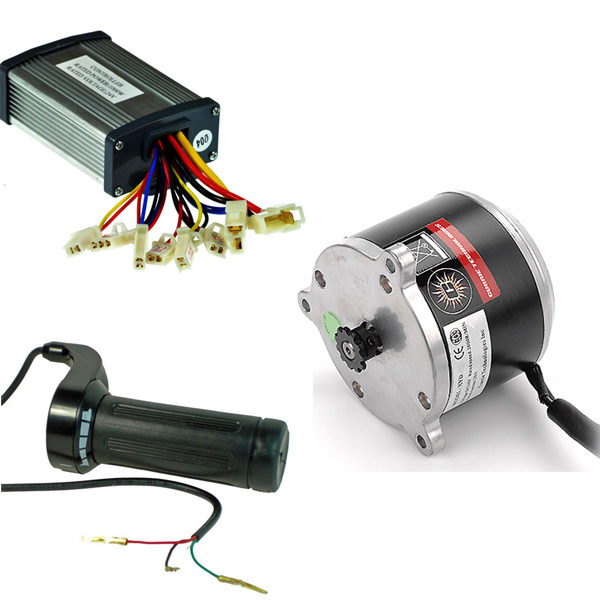 24 Volt 900 Watt Motor Controller Throttle Kit Monster Scooter Parts
