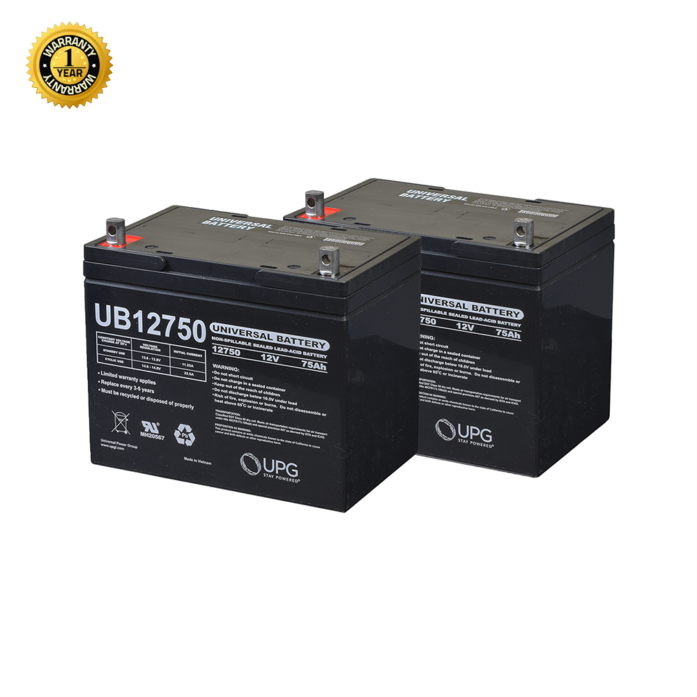 24 volt group 24 75 ah battery pack for the jazzy 1104 compatible with jazzy monster. Black Bedroom Furniture Sets. Home Design Ideas