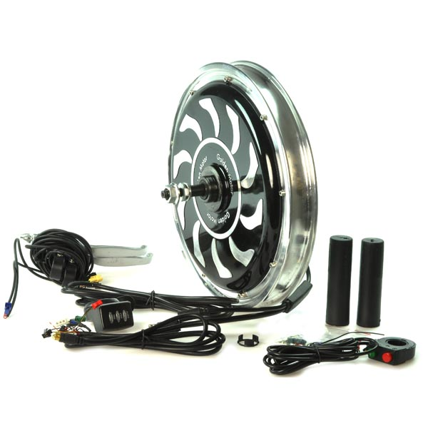 48 volt electric bike conversion kit with magic pie 3 hub for Scooter hub motor kit