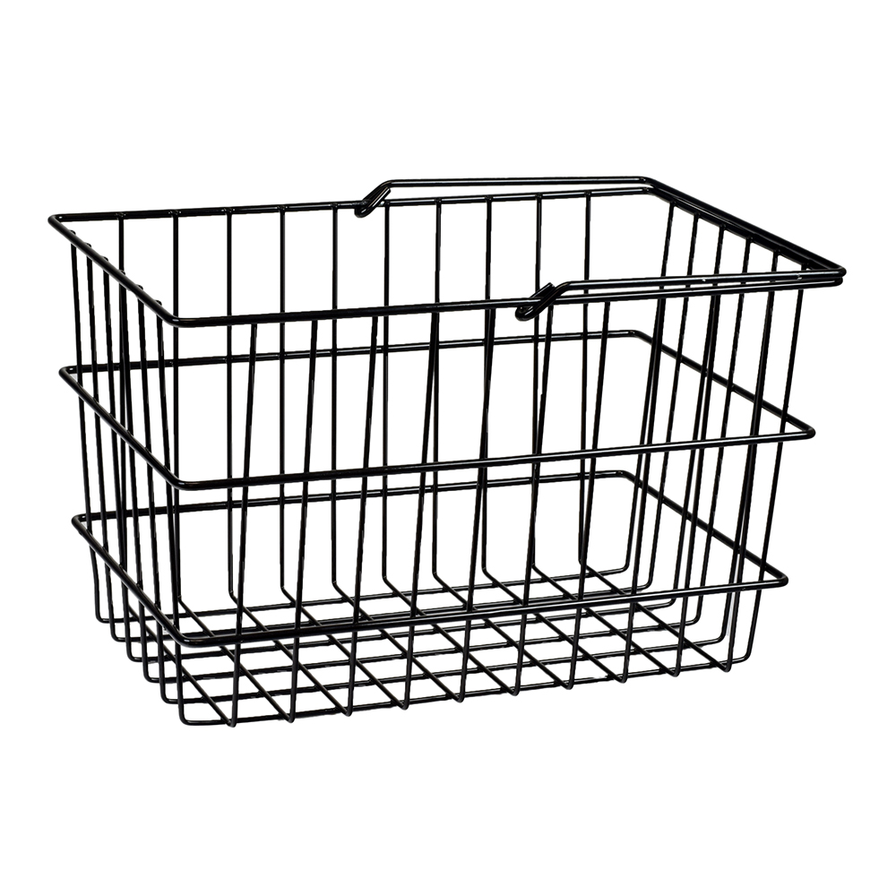 large square front basket for pride mobility scooters