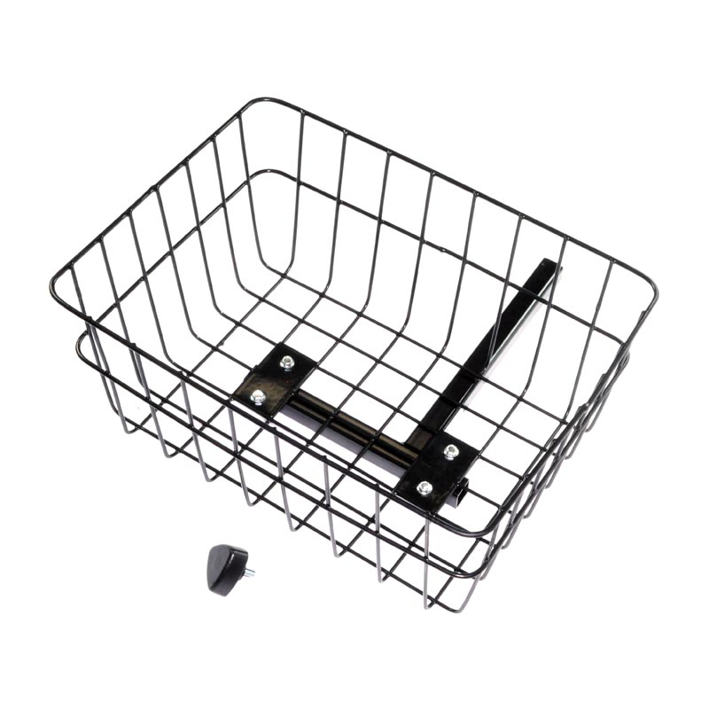 rear basket with bracket knob for the invacare leo and