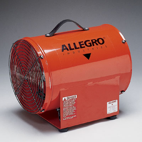 "Allegro® Industries 12"" High Output Axial Blower"
