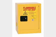 Eagle 1904 Flammable Liquid Safety Storage Cabinet, 4 Gal. Yellow