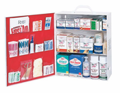Medique, 3 Shelf Industrial First Aid Cabinet