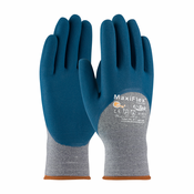 PIP, MaxiFlex® Comfort™ Seamless Knit Cotton / Nylon / Lycra Glove with Nitrile Coated Micro-Foam Grip on Palm, Fingers & Knuckles