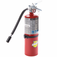 Buckeye 25614 Hand Held 5 LB ABC Dry Chemical Extinguisher With Vehicle Bracket