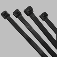 """Anchor Brand 7.6"""" Standard Cable Ties (50 lb.) (Black)"""