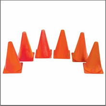 "Spectrum™  Cones, 9 "" Orange, 6/pk"