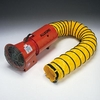 "Allegro® Industries AC 1/3 HP Plastic 8"" COM-PAX-IAL Blower with Canister And 15' Duct"