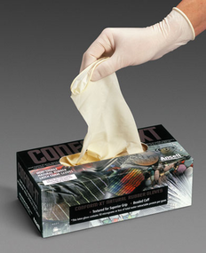 Ansell, Conform XT, Powder-Free 100% Natural Rubber Latex Gloves
