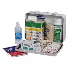 """Medique, Standard Vehicle First Aid Kit, 818M1, 9 1/2"""" X 61/4"""" X 2/38"""