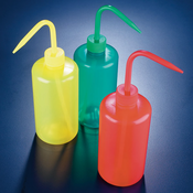 Azlon WGR036P Green Colored Wash Bottles