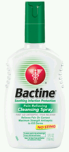 Bactine, 5oz, Pump Spray Bottle