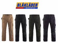 Blaklader 1670 1320 2800 Brawny Work Pants No Utility Pockets