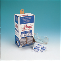 Braco  Manafacturing Magic Wipes TW100DS Fog-Be-Gone Lens Cleaning Toweletts