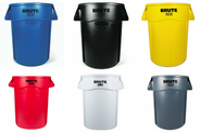 Rubbermaid® BRUTE® Round Container - 44 Gallon